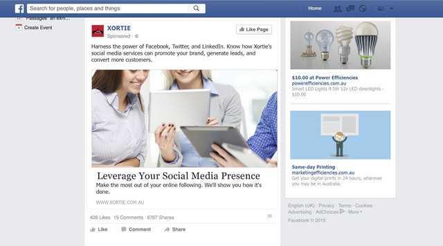 Facebook трафик и аудитоиря