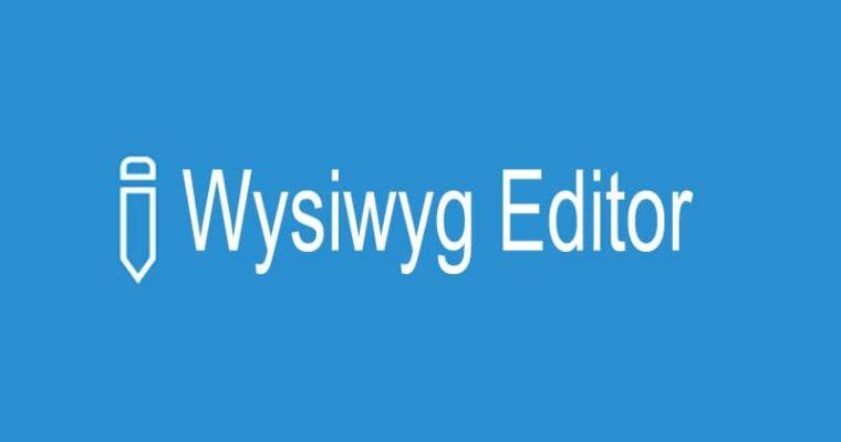 WYSIWYG-редакторы — что это и как их использовать