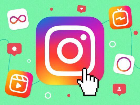 Как сделать красивый фон в Инстаграм