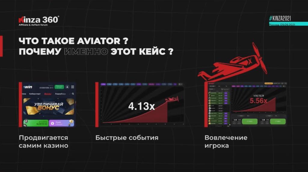 Кейс: как лить трафик на Aviator с Facebook. ROI 300% — доклад Игоря Алексеева с KINZA 360 / гемблинг арбитраж